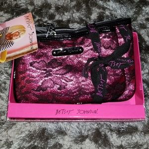 Betsey Johnson 2 piece cosmetic pack